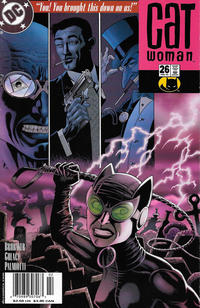 Cover Thumbnail for Catwoman (DC, 2002 series) #26 [Newsstand]