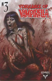 Cover Thumbnail for Vengeance of Vampirella (Dynamite Entertainment, 2019 series) #3 [Cover A Lucio Parrillo]
