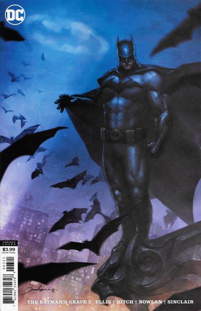 Cover for The Batman's Grave (DC, 2019 series) #3 [Bryan Hitch & Alex Sinclair Cover]