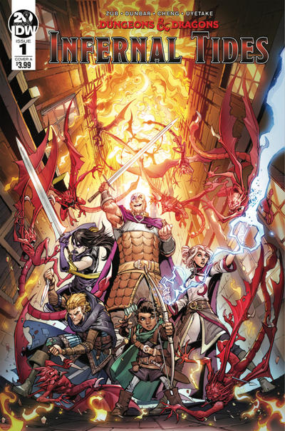 Cover for Dungeons & Dragons: Infernal Tides (IDW, 2019 series) #1