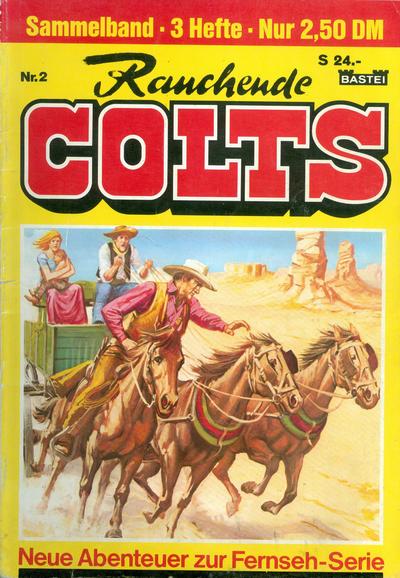 Cover for Rauchende Colts (Bastei Verlag, 1978 ? series) #2