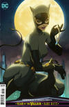 "Cover for Catwoman (DC, 2018 series) #14 [Stanley ""Artgerm"" Lau Cardstock Cover]"