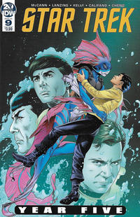 Cover Thumbnail for Star Trek: Year Five (IDW, 2019 series) #9 [Regular Cover]