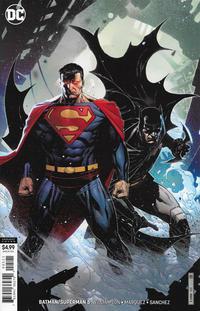 Cover Thumbnail for Batman / Superman (DC, 2019 series) #5 [Jim Cheung Cardstock Variant Cover]