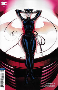 Cover Thumbnail for Catwoman (DC, 2018 series) #18 [Kris Anka Cover]