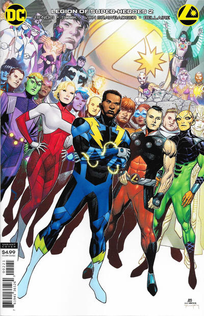 Cover for Legion of Super-Heroes (DC, 2020 series) #2