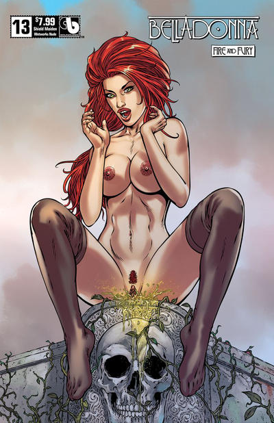 Cover for Belladonna: Fire and Fury (Avatar Press, 2017 series) #13