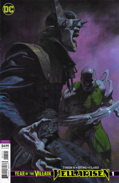 Cover for Year of the Villain: Hell Arisen (DC, 2020 series) #1 [Steve Epting Cover]