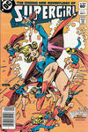 Cover Thumbnail for The Daring New Adventures of Supergirl (1982 series) #11 [Newsstand]