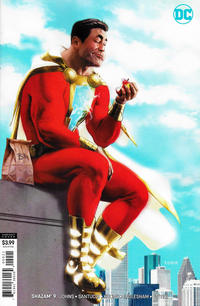 Cover Thumbnail for Shazam! (DC, 2019 series) #9 [Kaare Andrews Variant Cover]