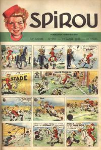 Cover Thumbnail for Spirou (Dupuis, 1947 series) #570
