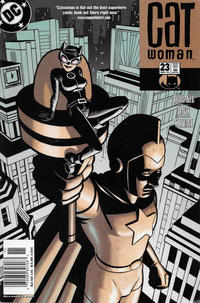 Cover Thumbnail for Catwoman (DC, 2002 series) #23 [Newsstand]