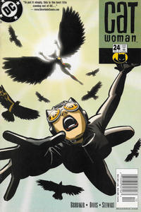 Cover Thumbnail for Catwoman (DC, 2002 series) #24 [Newsstand]