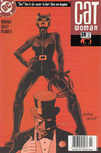 Cover Thumbnail for Catwoman (DC, 2002 series) #28 [Newsstand]