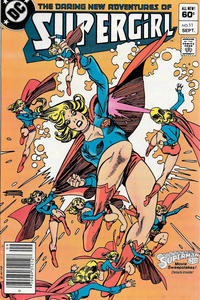 Cover Thumbnail for The Daring New Adventures of Supergirl (DC, 1982 series) #11 [Newsstand]