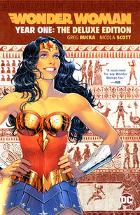 Cover Thumbnail for Wonder Woman: Year One: The Deluxe Edition (DC, 2019 series)