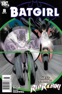 Cover Thumbnail for Batgirl (DC, 2009 series) #8 [Newsstand]