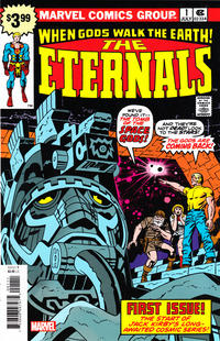 Cover Thumbnail for Eternals #1 Facsimile Edition (Marvel, 2020 series)