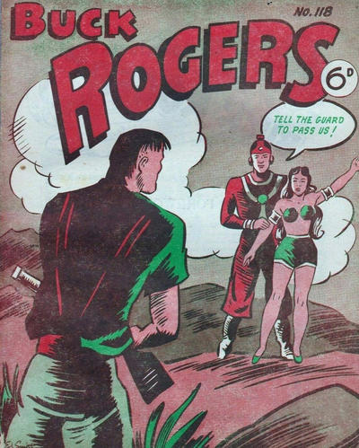 Cover for Buck Rogers (Fitchett Bros., 1950 ? series) #118