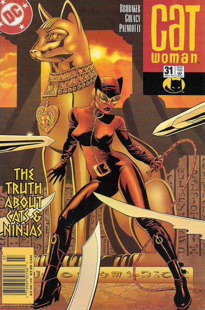 Cover for Catwoman (DC, 2002 series) #31 [Direct Sales]