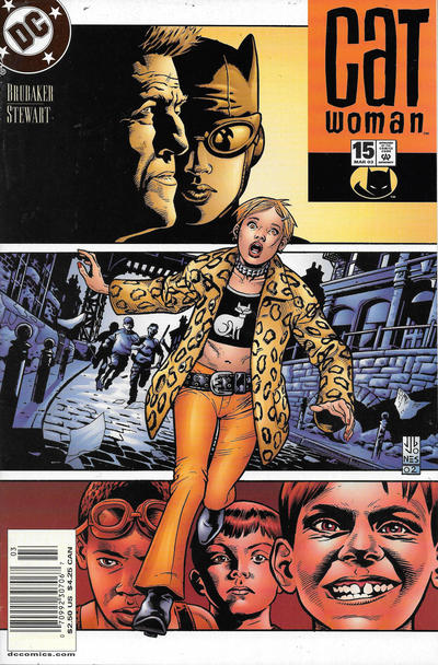 Cover for Catwoman (DC, 2002 series) #15 [Newsstand]