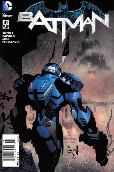 Cover for Batman (DC, 2011 series) #41 [Amazing! Comic Conventions Cover]