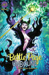 Cover for Bettie Page Unbound (Dynamite Entertainment, 2019 series) #7 [Cover A John Royle]