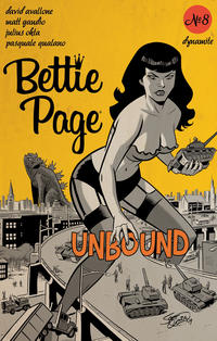 Cover Thumbnail for Bettie Page Unbound (Dynamite Entertainment, 2019 series) #8 [Cover B Scott Chantler]