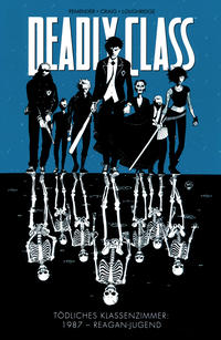 Cover Thumbnail for Deadly Class (Panini Deutschland, 2015 series) #1 - 1987 - Reagan-Jugend