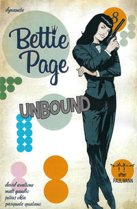 Cover Thumbnail for Bettie Page Unbound (Dynamite Entertainment, 2019 series) #8 [Cover D Pasquale Qualano]