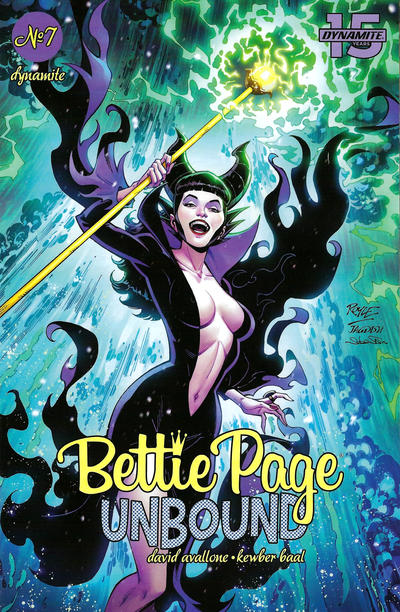 Cover for Bettie Page Unbound (Dynamite Entertainment, 2019 series) #7 [Cover C David Williams]