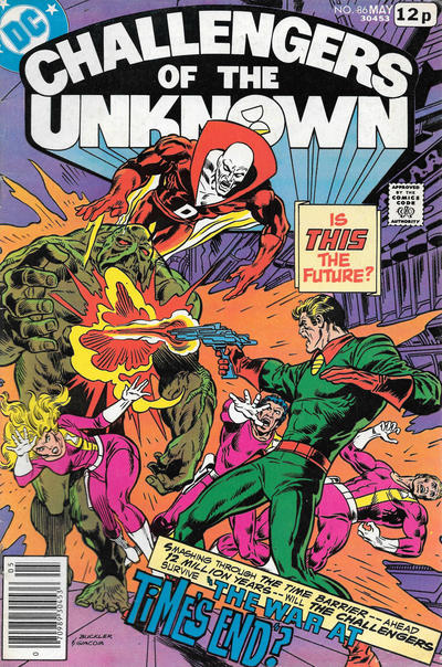 Cover for Challengers of the Unknown (DC, 1958 series) #86