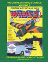 Cover for Gwandanaland Comics (Gwandanaland Comics, 2016 series) #2524 - The Complete Wings Comics: Volume 1