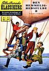 Cover for Illustrerede Klassikere (I.K. [Illustrerede klassikere], 1956 series) #21 - Den hemmelighedsfulde ø