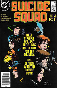 Cover for Suicide Squad (DC, 1987 series) #1 [Direct]