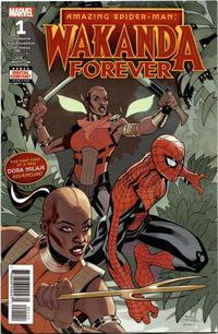 Cover Thumbnail for Amazing Spider-Man: Wakanda Forever (Marvel, 2018 series) #1