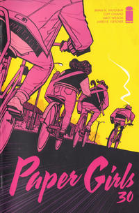 Cover Thumbnail for Paper Girls (Image, 2015 series) #30