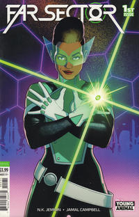 Cover Thumbnail for Far Sector (DC, 2020 series) #1 [Variant Cover by Jamie McKelvie]