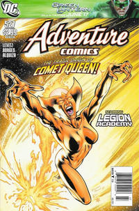Cover Thumbnail for Adventure Comics (DC, 2009 series) #527 [Newsstand]