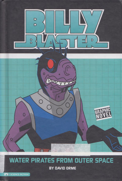 Cover for Water Pirates from Outer Space (Capstone Publishers, 2009 series)