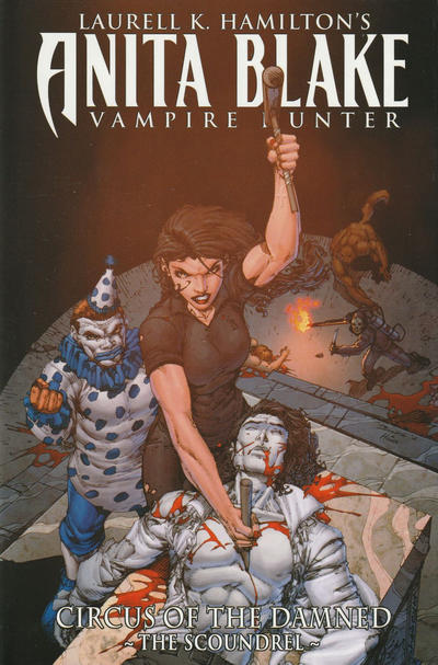 Cover for Anita Blake, Vampire Hunter: Circus of the Damned (Marvel, 2011 series) #Book 3 - The Scoundrel