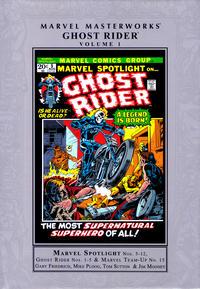 Cover Thumbnail for Marvel Masterworks: Ghost Rider (Marvel, 2019 series) #1