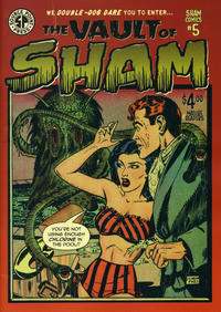 Cover Thumbnail for Sham Comics (Source Point Press, 2019 series) #5
