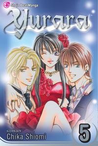 Cover for Yurara (Viz, 2007 series) #5