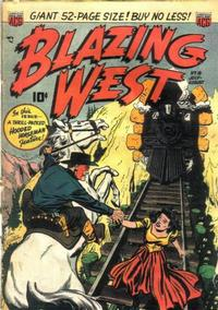 Cover Thumbnail for Blazing West (American Comics Group, 1948 series) #18