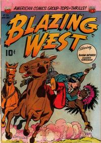 Cover Thumbnail for Blazing West (American Comics Group, 1948 series) #20