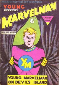 Cover Thumbnail for Young Marvelman (L. Miller & Son, 1954 series) #74