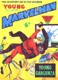 Cover Thumbnail for Young Marvelman (L. Miller & Son, 1954 series) #100