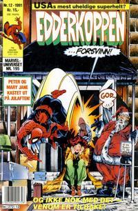 Cover Thumbnail for Edderkoppen (Semic, 1984 series) #12/1991