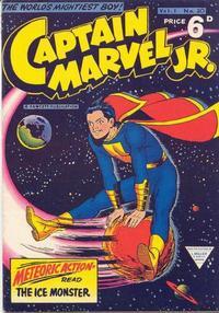 Cover Thumbnail for Captain Marvel Jr. (L. Miller & Son, 1953 series) #v1#20